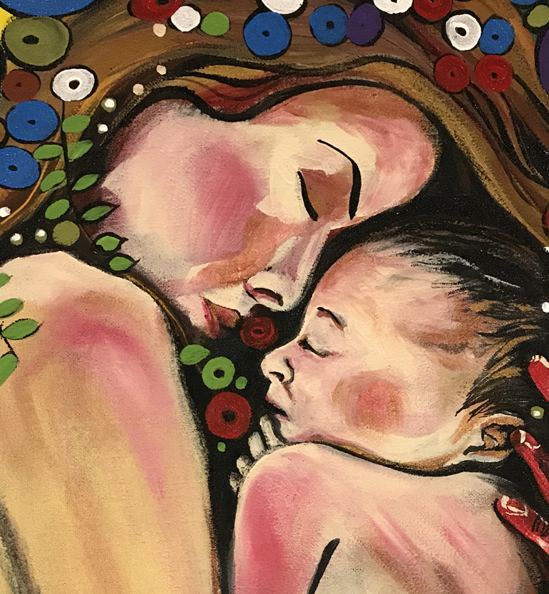 Mother and Child (Detail)